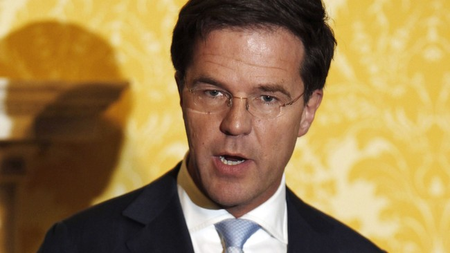 Mark Rutte (Foto: Luke Macgregor/Afp/Scanpix)