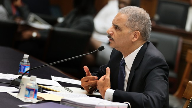 Eric Holder (Foto: MARK WILSON/Afp)
