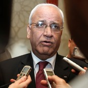 Saeb Erekat (Foto: STRINGER/Reuters)