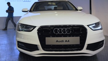 INDIA-GERMANY-AUDI