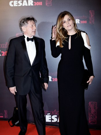 France Cinema Cesar Awards Roman Polanski, Emmanuelle Seigner