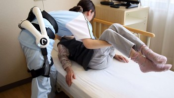 JAPAN-TECHNOLOGY-ROBOT-HEALTH-ELDERLY
