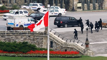 Angrep i Ottawa - Foto: CHRIS WATTIE / Reuters