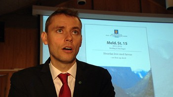 Video Stortingsmelding om flom og skred - Foto: Nyhetsspiller /