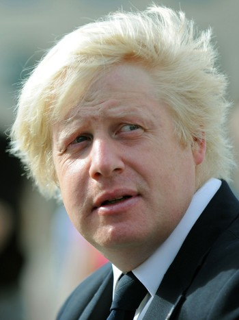 Londons borgermester Boris Johnson