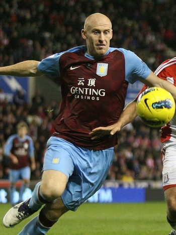 Britain Premier League Soccer - James Collins var en av de involverte i krangelen. - Foto: Barrington Coombs / Ap