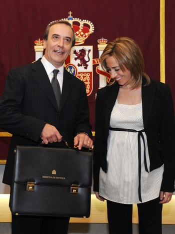 Carme Chacon og Jose Alonso