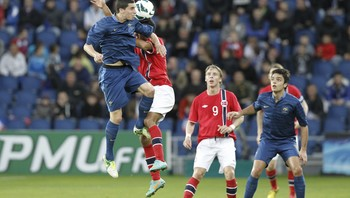 FRANCE VS NORWAY U21