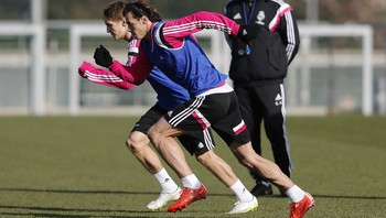Martin Ødegaard og Gareth Bale - Foto: Angel Martinez / Real Madrid via Getty Images
