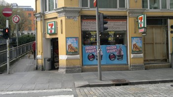 Ran på 7-eleven i Christies gate
