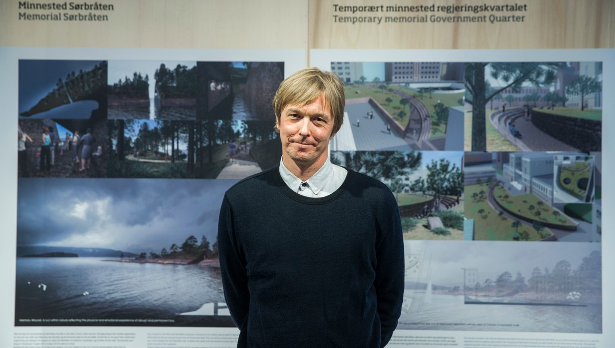 Jonas Dahlberg wins competition to design Norway memorial