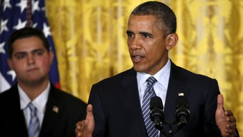 USAs president Barack Obama lanserte klimaplanen Clean Power Plan