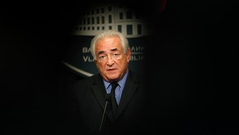 Dominique Strauss-Kahn portrett