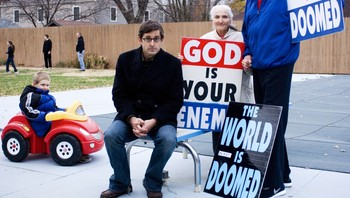 Louis Theroux i dokumentaren om Westboro Baptist Church