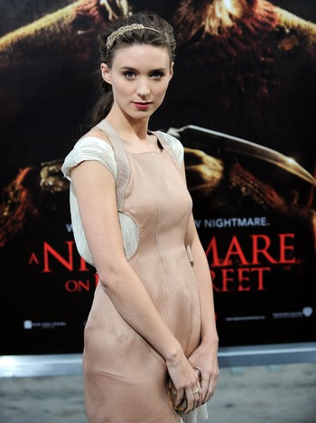 Rooney Mara, her fra premieren på «A nightmare on Elm street».