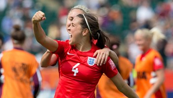 WWCup England Germany Soccer Fara Williams