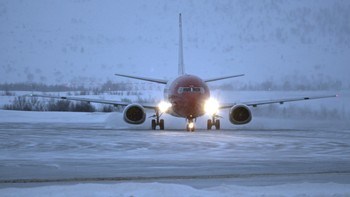Norwegian-fly i Kirkenes