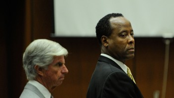 Conrad Murray i retten