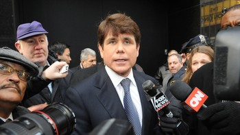 Rod Blagojevich - Rod Blagojevich etter at han deltok på «Good Morning America» i New York. - Foto: Louis Lanzano / AP