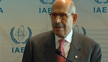 Video Mohamed ElBaradei reiser til Egypt for å støtte demonstrantene - Foto: Nyhetsspiller /