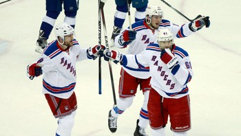 NHL/ NHL: Stanley Cup Playoffs-New York Rangers at Tampa Bay Lightning