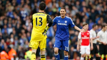 FOOTBALL/ Arsenal v Chelsea - Barclays Premier League