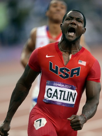 OS 2012 The London 2012 Olympic Games - Justin Gatlin løp inn til bronse. - Foto: Vesa Moilanen / NTB scanpix