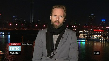 Sigurd Falkenberg Mikkelsen - As a public service broadcaster NRK should present a wide range of content. Sigurd Falkenberg Mikkelsen is one out of 3,500 employees - placed as a Correspondent based in Cairo.NRK