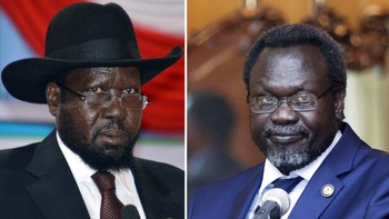 SSUDAN-UNREST-TALKS-KIIR-MACHAR-COMBO