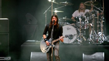 Dave Grohl i Foo Fighters på Norwegian Wood.