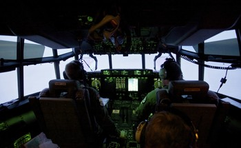 Video Hercules-fly - fra cockpit - Foto: Nyhetsspiller /