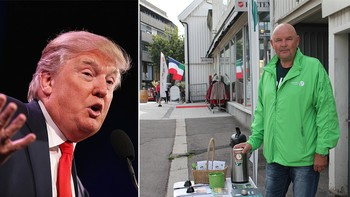 Donald Trump og Tom Arne Johannessen