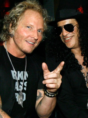 Matt Sorum og Slash