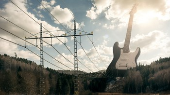 Erik Johansson photography - «Electric Guitar» - Foto: Erik Johansson /