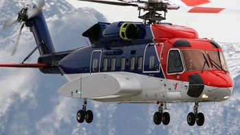 S-92 fra CHC Helikopterservice