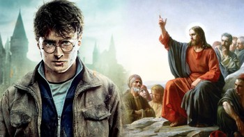 Harry Potter og Jesus - Foto: Warner Bros./ Carl Bloch /