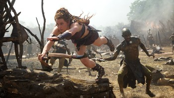 Hercules - SKRYT: Ingrid Bolsø Berdal får fin omtale for sin rolle som Atalanta i filmen «Hercules». - Foto: Photo credit: Kerry Brown/ SF Norge AS / Kerry Brown
