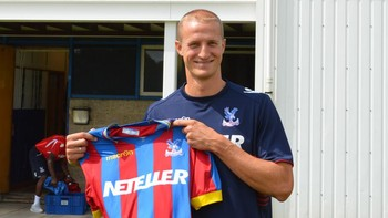 Hangeland til Crystal Palace - Brede Hangeland er klar for Crystal Palace. - Foto: http://www.cpfc.co.uk/ /