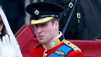 Prins William - Prins William som giftet seg i april i fjor har amkommet Falklandsøyene - Foto: Åserud, Lise / Scanpix