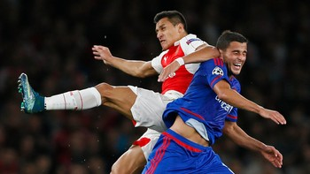 SOC/ Arsenal v Olympiacos - UEFA Champions League Group Stage - Group F