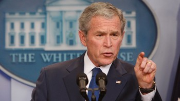 George W. Bush, 12. januar-09 - Foto: Ron Edmonds / AP
