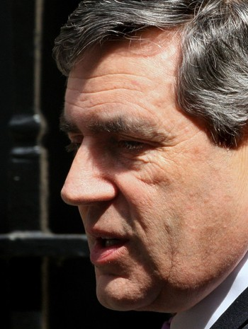 Gordon Brown - Gordon Brown (Labour) var statsmininster i Storbritannia fra 2007 til 2010. - Foto: SHAUN CURRY / AFP