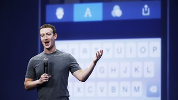 Facebook-grunnlegger Mark Zuckerberg