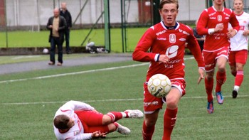 Lars Christian Kjemhus i kamp for Brann