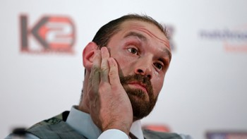 BOX/ Wladimir Klitschko & Tyson Fury Head-to-Head Press Conference