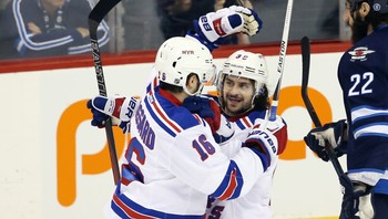 NHL/ NHL: New York Rangers at Winnipeg Jets