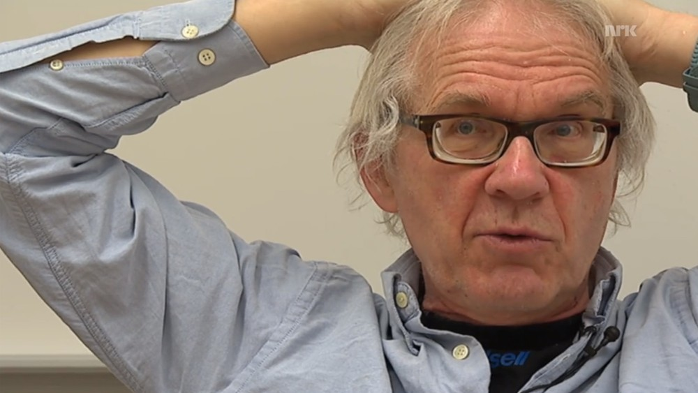 Interview with Lars Vilks at a secret location, 2015.