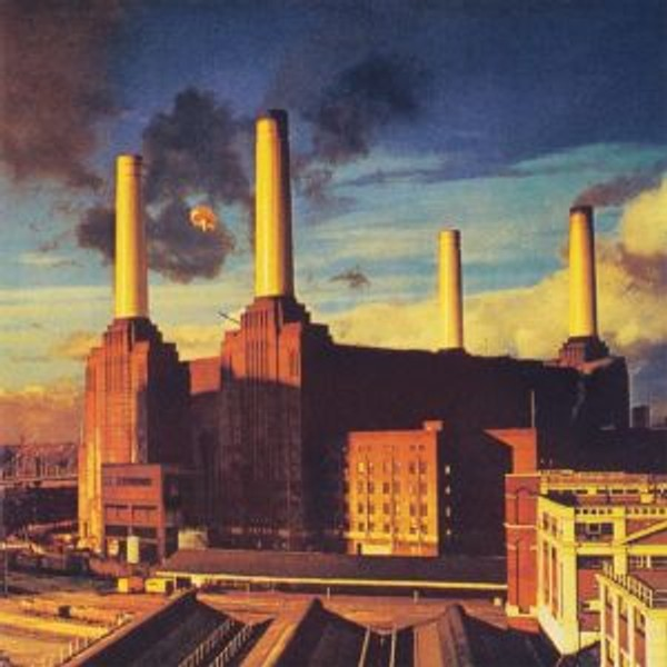 Pink Floyd - Animals - Battersea-kraftverket er for mange kjent som cover-kunsten til Pink Floyd-albumet 'Animals'.