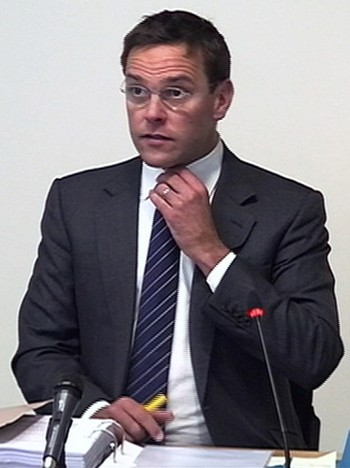 James Murdoch - James Murdoch - Foto: REUTERS TV / Reuters