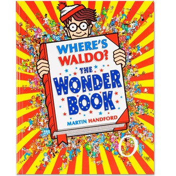 Where's Waldo? - En av finn Willy-bøkene. (Eller 'find Waldo', som bokserien heter i USA.)Candlewick Press